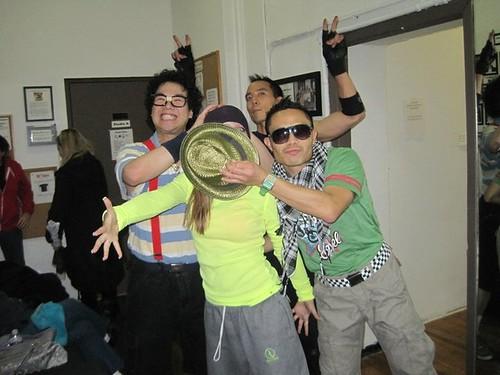 PMT crew clowning