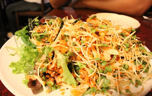Tokkuri Tei - Salmon Skin Salad
