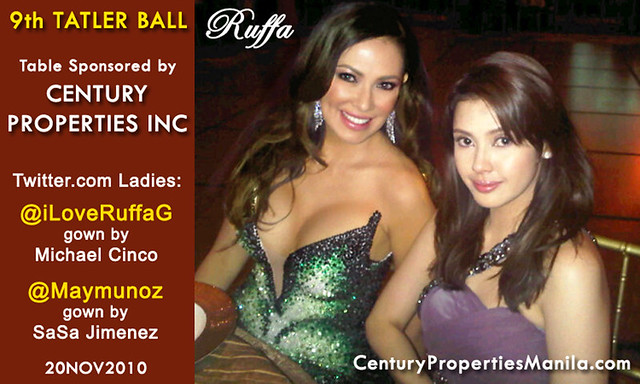 Ruffa Gutierrez 9th Tatler Ball w/ Century Properties Group 20NOV2010 by MsRuffa