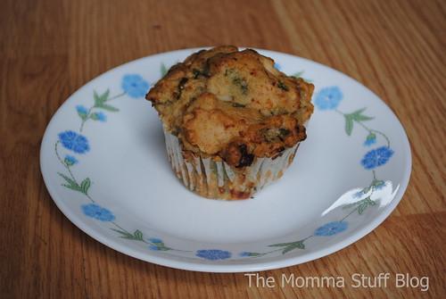 gluten-free spanikopita muffins
