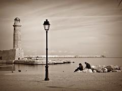 The lighthouse of Rethymnon (Eleanna Kounoupa) Tags: lighthouse rethymno venetianport