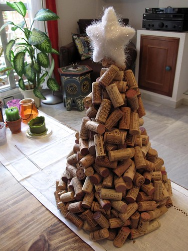 Cork Christmas Tree - OCCASIONS AND HOLIDAYS