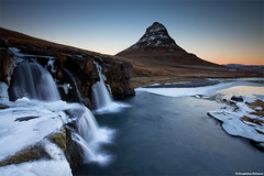 Winter Wonderland - Iceland (skarpi - www.skarpi.is) Tags: blue winter sunset mountain snow mountains cold ice rock river wonder island waterfall iceland cool rocks stream frost mt dusk postcard smooth dream silk wonderland grad foss tones kalt fell kirkjufell sland winterwonderland lightroom icelandic vetur earlysunset frosen gradiant icecold grundarfjrur fossar fjall kuldi vetrarmyndir pstkort frozt grundarfjordur fjrur fjordur kirkjufellsfoss skarpi grundar wintertravel winteriniceland veturslandi favoritetravel skarphinnrinsson copyrightskarphinnrinsson
