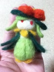 ポケモンBW_てのひらドレディア_02