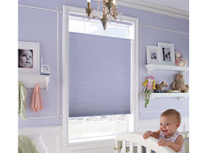 Out of sight, out of mind. Maintain your privacy and safety with cellular window blinds