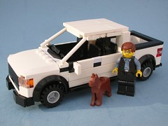 Ford F150 a (Lego Monster) Tags: car truck lego pickup suv