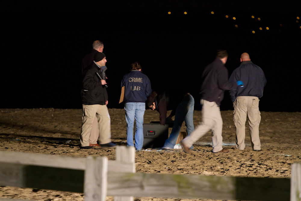 State Police investigating shooting on South Boston beach