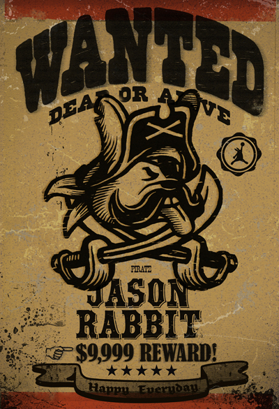 WANTED Jason Rabbit