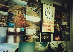 (rcalow.photography) Tags: film wall 35mm kodak guinness prints olympustrip35 photowall trip35
