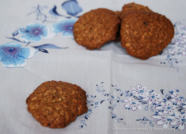 Oat ginger cookies