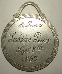 Sabine Pass copy obverse