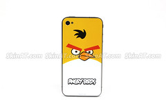 Angry bird- iPhone 4 decal sticker vinyl