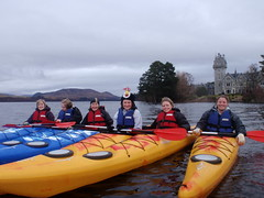 Glen Bogle kayak tour Hen Do