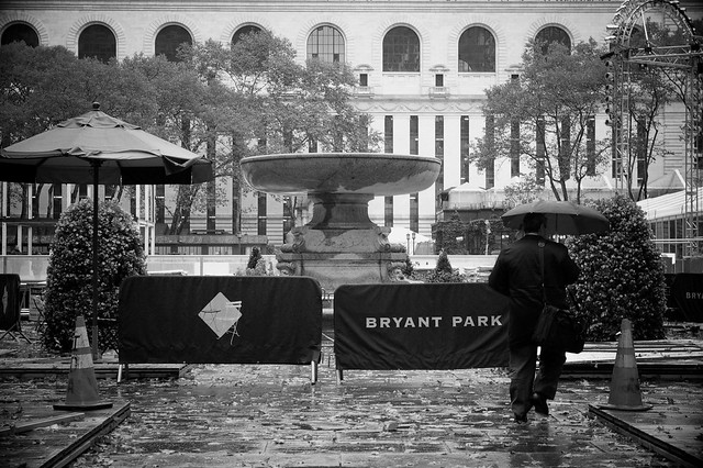 Walk In New York 2009 - The Bryant Park