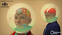 PlayStation Home: fishbowl hats