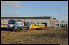 RTB V203 + 3211 + 3213 + 3221 + 3209 (Hugeau) Tags: holland train nederland eisenbahn rail cargo freight trein treni rtb rurtalbahn guterzug goederntrein