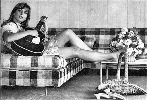 the 1960s-a girl  and her guitar