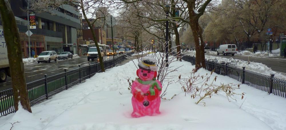 Dayglow Snowman