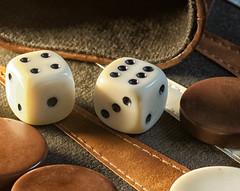 Relaxation (Space Coaster) Tags: tamron90mmf28macro nikond750 boardgames backgammon macro closeup relaxation macromondays