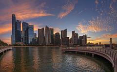 Epic Sunset @ Marina Bay Sands, Singapore (gintks) Tags: gintaygintks gintks singaporetourismboard landscapes marinabaysands marinabay marinabayfinancialcentre sunsetglow eventplaza bayfronteventspace yoursingapore exploresingapore marinabaysingapore mbs