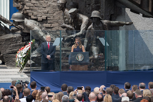 From flickr.com: President Trump's Trip to Poland {MID-142378}