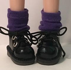 Violet Short Socks...For Blythe...