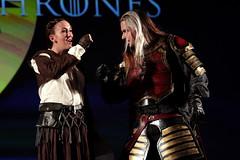 Arya Stark & Jaqen H'ghar cosplayer (Gage Skidmore) Tags: arya stark jaqen hghar cosplay cosplayer con thrones game hbo 2017 gaylord opryland resort convention center nashville tennessee