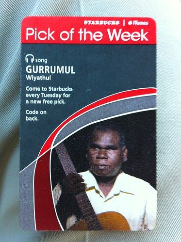 Starbucks iTunes Pick of the Week - Gurrumul - Wiyathul