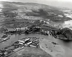 The shipyard of William Denny & Brothers in Dumbarton. (Scottish Maritime Museum - SMM) Tags: building history museum scotland clyde boat sailing ship paddle scottish commons vessel steam maritime sail steamer cruiser turbine irvine smm ayrshire scottishmaritimemuseum linthouse ayrshirecoast 8qe ka12 scotmaritime
