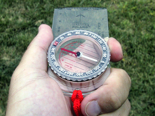 Using a Compass - Step 3