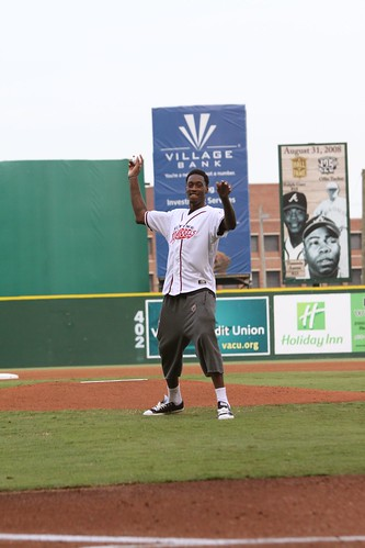 Larry Sanders First Pitch
