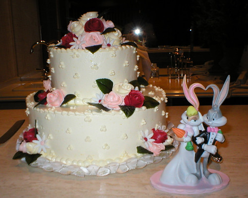 Our Wedding Cake from Freed's Bakery - 2003