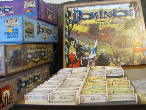 Dominion Card Game Storage