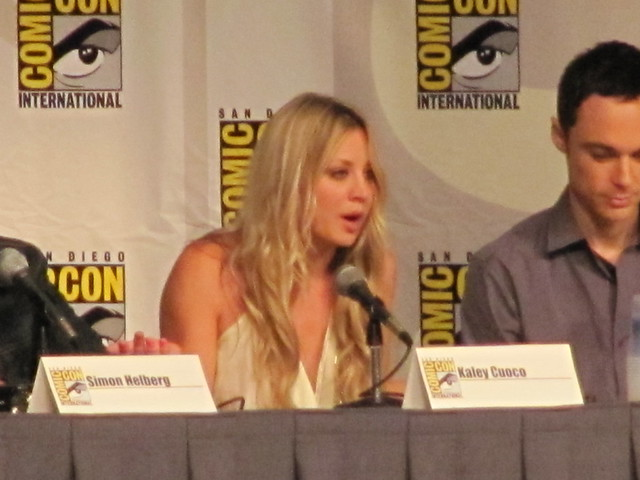 Comic-Con 2010 The Big Bang Theory Kaley Cuoco