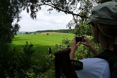 Liebliche Taunuslandschaft vor Bad Nauheim Juli 2010