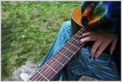 Rock Festival () Tags: music colors hand guitar polish musica mano colori chitarra d60 smalto nikond60 lucamilani