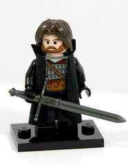 """Aragorn"" (~Entropy~) Tags: lego action quote books lord rings gandalf movies aragorn tolkien baps prototypes claymore brickarms"