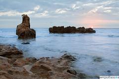20100725-022.jpg (sergio frances) Tags: sea sun seascape sol beach rock contraluz dawn mar playa paisaje amanecer roca backlighting denia lesrotes