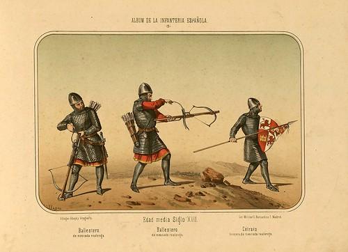 004- Álbum de la Infantería Española..-1861- conde de Clonard