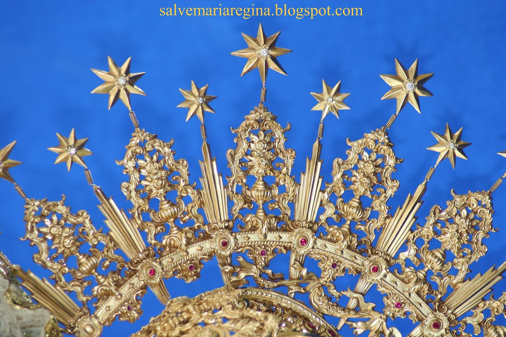 Corona de Ntra. Sra. de la Aurora. Sevilla.