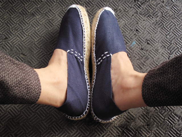 New navy espadrilles 01