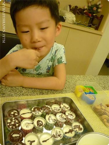 3Y7M 翔和媽咪一起做巧克力
