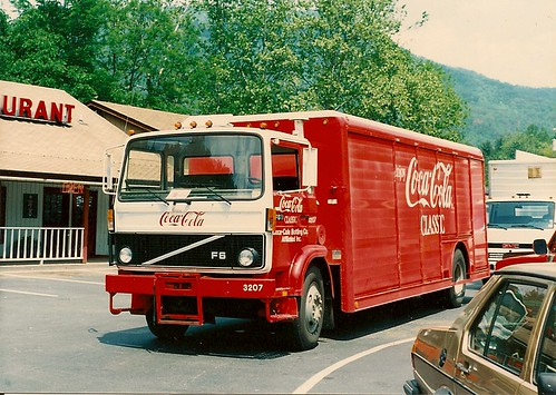 Coca Cola delivery truck. Cherokee North Carolina. May 1990. by Eddie from Chicago