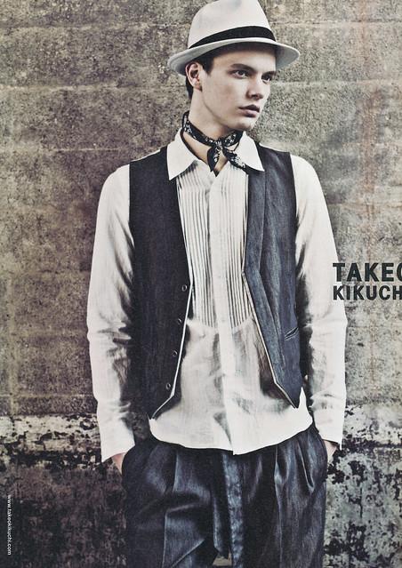Jason Wilder0060_TAKEO KIKUCHI(WWD MEN'S SS2009)