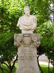 Emili Vilanova al Parc de la Ciutadella