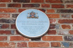 Photo of Battle of Marlborough blue plaque