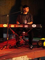 Dan Holmes at Creek Fest