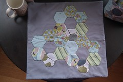 Hexi Pillow Case (KMQuilts) Tags: