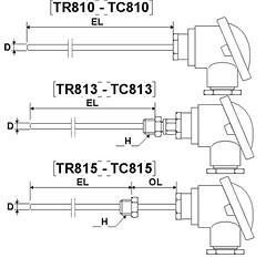 TC810 TC813 TC815
