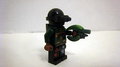Green Company Soldier (The Brick Guy) Tags: green soldier lego company prototype custom minifigure brickarms modernwarfare z5epodgun